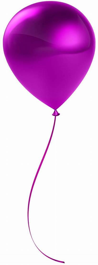 Balloon Single Transparent Clip Clipart Ballon Ballons