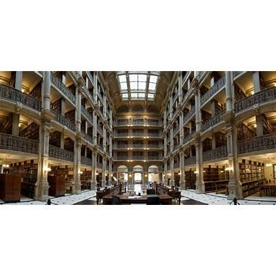 George Peabody Library - Baltimore MD USA PentaxForums.com