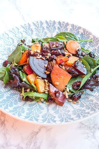Warm Kitchen Sink Salad   Plant Based City Living