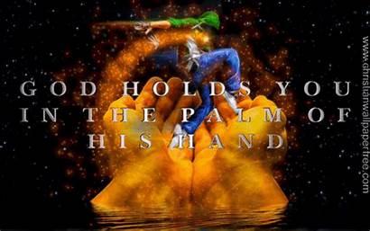Hand God Palm Christian Holds Christianwallpaperfree Jesus