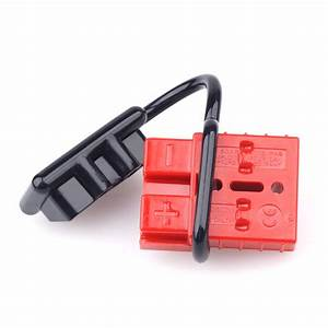 2x Battery Quick Connector 50a 600v Plug Covers Kit
