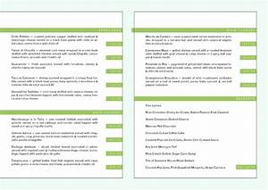 restaurant menu templates free mac With free restaurant menu templates for mac