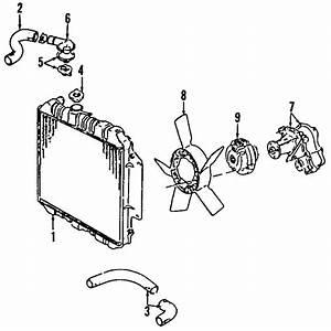 Chevrolet Tracker Radiator Coolant Hose  Upper   2 5 Liter