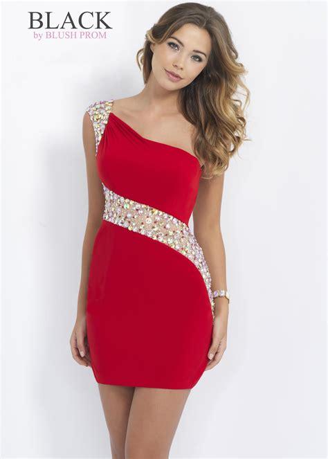 Short Prom Dresses New Fashion Tight Red White