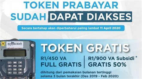 token listrik gratis  pln  whatsapp