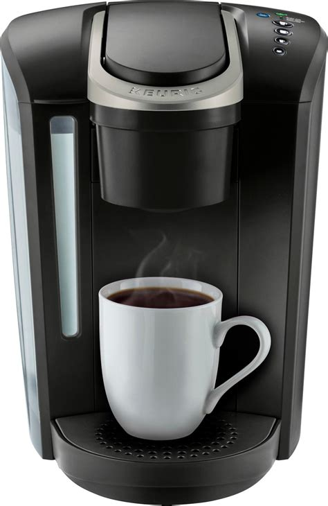 It features four brew sizes, so you can brew 6, 8, 10, or up to 12 oz. Keurig - K-Select Single-Serve K-Cup Pod Coffee Maker - Matte Black   Okinus Online Shop