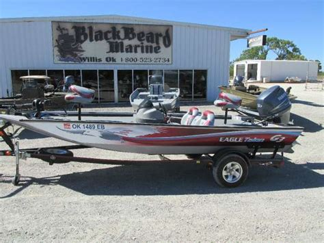 Bass Boat Talons by G 3 Eagle Talon 17 Dlx Boats For Sale