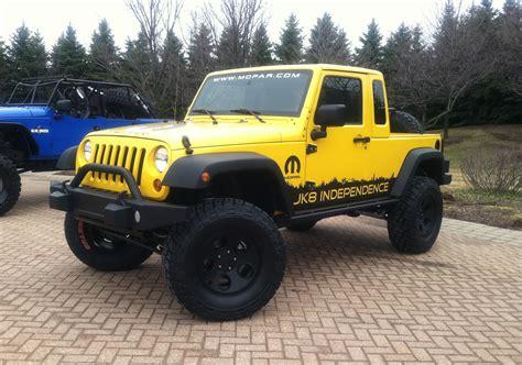 jeep wrangler pickup wrangler pickup is a go jeep to offer jk 8 conversion kit