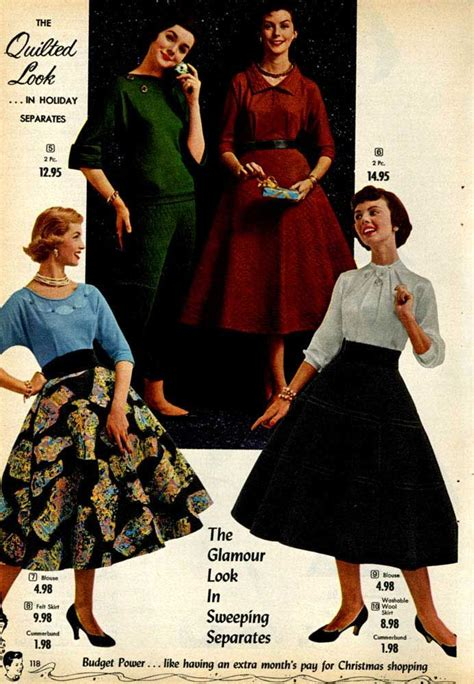 1955 Fashion Pictures Pictures Of 1950s Womens Fashion