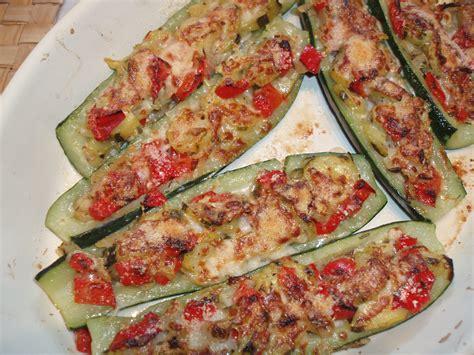 recette de cuisine courgette recette de courgettes farcies aux légumes le d