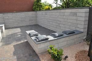 Gartenmauern Aus Beton : moderne design gartenmauer einfach setzen neuigkeiten ~ Michelbontemps.com Haus und Dekorationen
