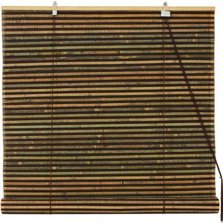 walmart bamboo blinds burnt bamboo roll up blinds multi color weave walmart