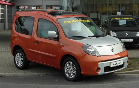 2009 Renault Kangoo Ii W Pictures Information And