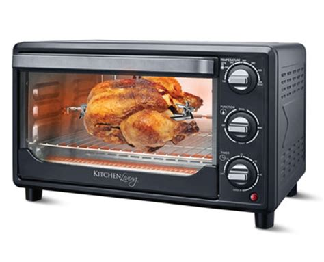 Kitchen Living Convection Countertop Oven With Rotisserie