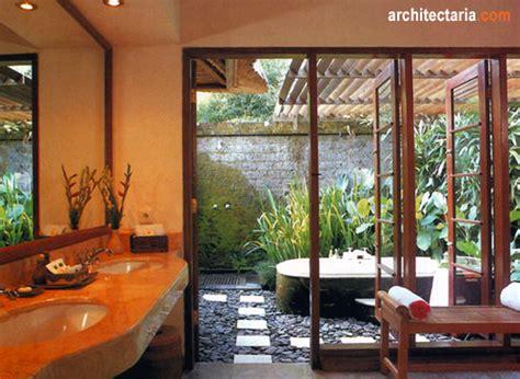 open air bathroom designs merencanakan kamar mandi dengan konsep terbuka open air bathroom pt architectaria media cipta