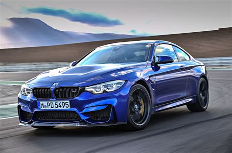 bmw m4 cs delivers 454 hp will come to u s motor trend