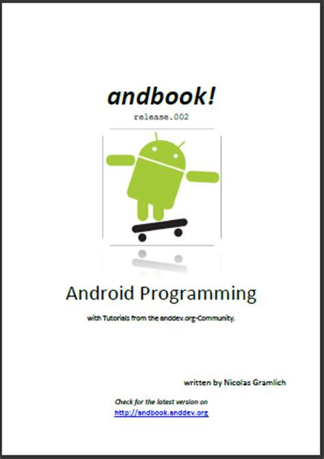 free ebook downloads for android android er free ebook android programming