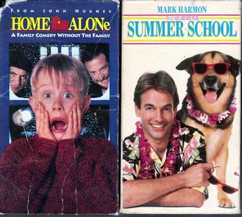 Home Alone (vhs, 1991) & Summer School (vhs,1988);2 Children & Family Comedy Vhs 86162186639 Ebay