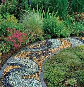 Must See Outdoor Landscape Mosaic Ideas - Mozaico Blog