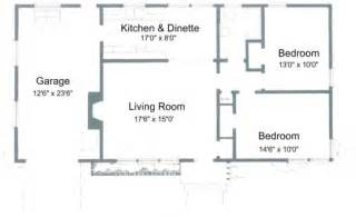 two bedroom cabin plans simple house plan with 2 bedrooms house floor plans
