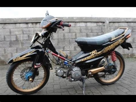 Modifikasi Smas by Modifikasi Motor Suzuki Smash Terbaru Modifikasi Motor