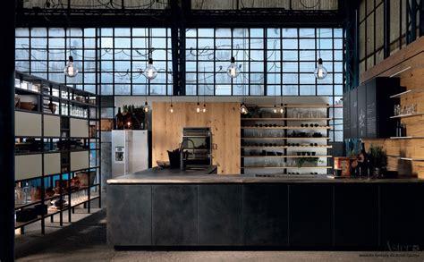 cuisine beton cire cuisine style industriel le métal