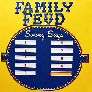 The 25+ best Family feud game questions ideas on Pinterest ...