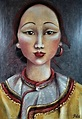 Original Women Painting by Clara De Bobes   Expressionism ...
