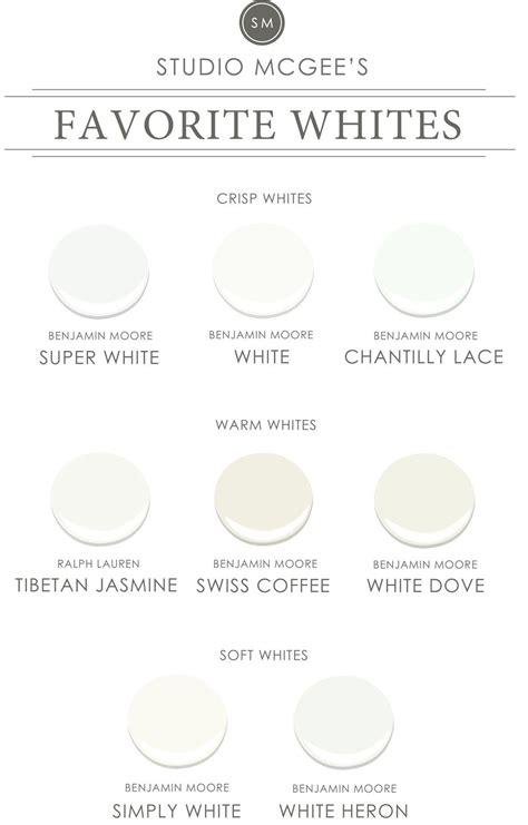 ask studio mcgee our favorite white paints paint colors