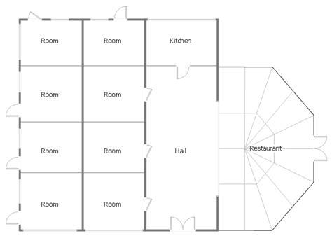 minihotel floor plan home architect software home plan