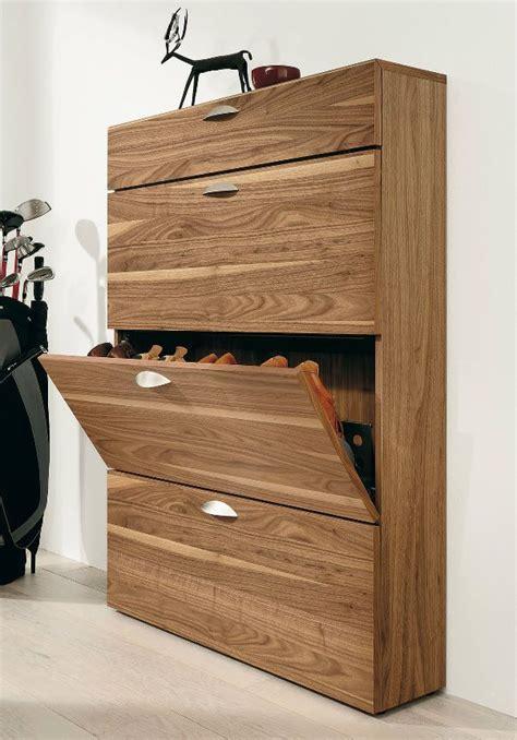 rak sepatu minimalis modern 2014 huzz design cabinet kayu hallway modern