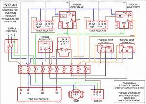 Boiler  Boiler Y Plan Wiring Diagram
