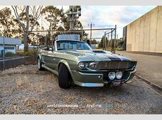 1968 Ford Mustang Convertible Eleanor – Find Me Cars