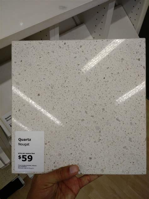 Ikea Quartz countertop   Kitchen remodel   Pinterest