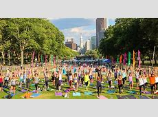 Top Places To Do Outdoor Yoga In Philadelphia This Summer