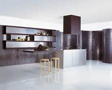 Style Kitchen Simple Futuristic Cuisine En Acier Inoxydable Design Int Rieur Id Es De