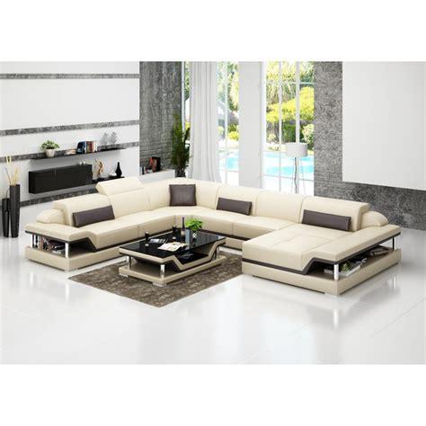 Milano Corner Sofa by Canap 233 D Angle Panoramique En Cuir Milano Xl Pop Design Fr