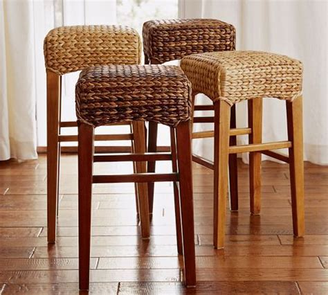 Seagrass Bar Stools Swivel Seagrass Backless Bar Counter Stool Client Marla