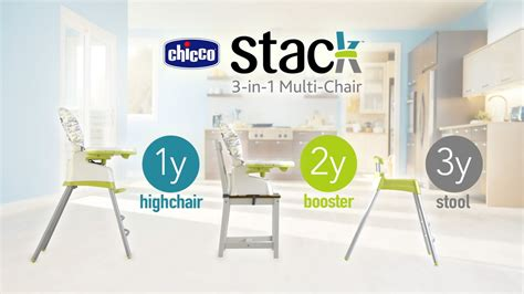 chaise chicco 3 en 1 chicco stack 3 in 1 multi chair