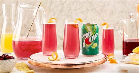 Birds_sing added mock pink champagne to baby birthday party 11 may 13:57. Mock Pink Champagne Recipe   7UP®