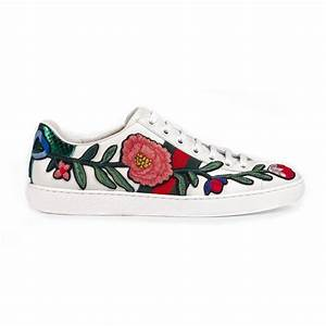 Gucci Ace Embroidered Low-Top Sneaker - Home Bazar