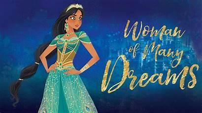 Aladdin Jasmine Wallpapers Princess Action Disney Cartoonish