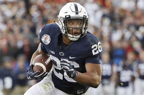 saquon barkleys rose bowl run kicked    heisman