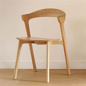Chaise En Bois : bok chaise ethnicraft en bois de ch ne sediarreda ~ Melissatoandfro.com Idées de Décoration