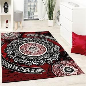 designer teppich mit glitzergarn klassisch ornamente With balkon teppich mit tapete ornamente weiß
