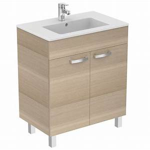 ulysse e0541 meuble lavabo plan idealspec france With meuble ulysse ideal standard