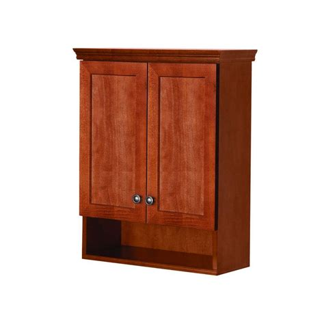 home depot wall cabinets glacier bay lancaster 22 in w x 28 in h x 8 37 50 in d