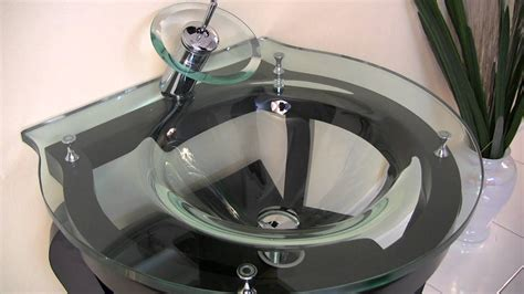 fresca simpatico modern bathroom vanity  tempered glass