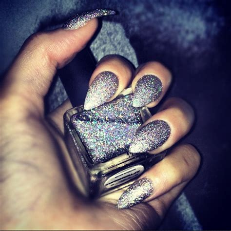 shiny metallic nail designs  girls  shine pretty