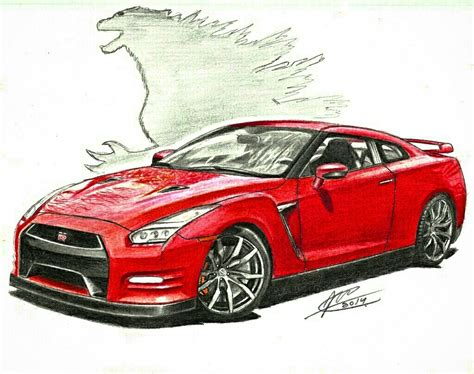 The World's Best Photos Of Drawing And Nissan